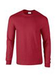 T shirt, dolg rokav, kardinal rdeča, 200gr, art. 5000